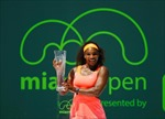 Serena đi vào lịch sử giải Miami Masters
