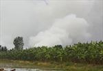 Nỗ lực khống chế cháy rừng U Minh Thượng