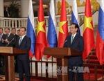 Thủ tướng Nguyễn Tấn Dũng hội đàm với Thủ tướng Medvedev