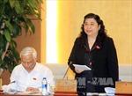 Ủy ban thường vụ Quốc hội thảo luận về dự án Luật phí và lệ phí