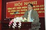 Quyết định của Bộ Chính trị về chức Bí thư Tỉnh ủy Bắc Kạn