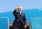 Tổng Bí thư Nguyễn Phú Trọng bắt đầu chuyến thăm Trung Quốc