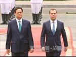 Thủ tướng LB Nga kết thúc tốt đẹp chuyến thăm chính thức Việt Nam