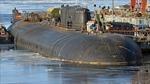 Nga nhấn chìm tàu ngầm hạt nhân Oryol để dập cháy