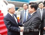 Tổng Bí thư Nguyễn Phú Trọng tiếp lãnh đạo tỉnh Vân Nam
