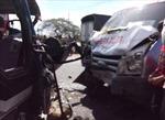Va chạm xe khách xe tải, hai người chết