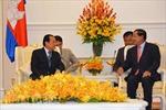 Thủ tướng Campuchia tiếp Bí thư Thành ủy Thành phố Hồ Chí Minh