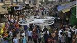 Ấn Độ sử dụng UAV xịt hơi cay kiểm soát biểu tình