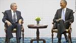 Cuba-Mỹ gặp thượng đỉnh lần đầu tiên sau nửa thế kỷ