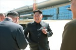 Ông Kim Jong-un thị sát xây nhà ga mới sân bay Bình Nhưỡng