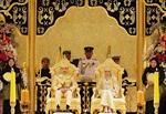 Đám cưới vàng của hoàng gia Brunei