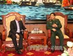 Đại tướng Phùng Quang Thanh tiếp Thứ trưởng Quốc phòng Philipines