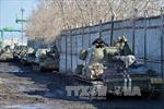 Xe tăng sẽ phải rút khỏi Đông Ukraine