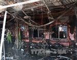Hỏa hoạn thiêu rụi nhà hàng ở Hải Phòng