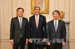 Mỹ-Nhật-Hàn kết thúc họp ba bên