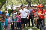 Cộng đồng Việt tại Ấn Độ thi đấu thể thao kỷ niệm ngày 30/4