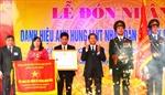 Xã Vĩnh Quỳnh nhận danh hiệu Anh hùng Lực lượng vũ trang Nhân dân