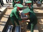 Điện Biên: An táng 41 hài cốt liệt sỹ hy sinh tại Lào