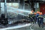 Hỏa hoạn tại cửa hàng xăng dầu, 1 người tử vong