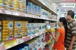 Giá sữa giảm không đáng kể