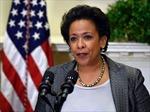 Mỹ có Bộ trưởng Tư pháp người da đen đầu tiên