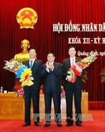 Thủ tướng phê chuẩn nhân sự UBND hai tỉnh Quảng Ninh, Hậu Giang
