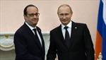 Tổng thống Nga kêu gọi Pháp cải thiện quan hệ