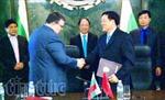 Việt Nam và Bulgaria ký Thỏa thuận hợp tác giữa hai viện kiểm sát