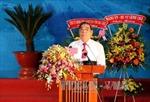 Đồng chí Lê Hồng Anh dự lễ kỷ niệm 30/4 tại Cà Mau