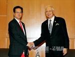 Thủ tướng Nguyễn Tấn Dũng tiếp lãnh đạo Malaysia, Philippines