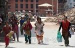 1 triệu trẻ cần cứu trợ sau động đất Nepal