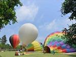 Ngắm khinh khí cầu ở Ecopark