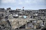 Kobane hoang tàn khủng khiếp nhìn từ trên không