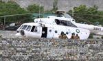 Rơi trực thăng ở Pakistan có thể do lỗi kỹ thuật