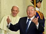 Giáo hoàng Francis tiếp Chủ tịch Cuba