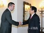 Chủ tịch nước dự Diễn đàn hợp tác kinh tế-du lịch Việt Nam tại CH Séc