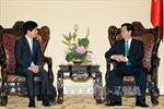 Thủ tướng Nguyễn Tấn Dũng tiếp Thứ trưởng Bộ Ngoại giao Nhật Bản