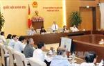 Thông cáo của Phiên họp thứ 38 của UBTV Quốc hội