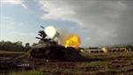 Robot chiến trường Nga dũng mãnh khai hỏa