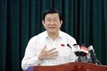 Chủ tịch nước lắng nghe lo lắng của cử tri về Biển Đông