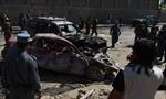 Đánh bom nhằm vào phái bộ EUPOL ở Kabul