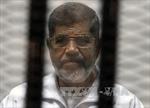 Phương Tây kêu gọi xem xét lại án tử hình cựu Tổng thống Morsi