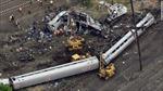 Đường sắt Đông Bắc Mỹ hoạt động trở lại sau vụ lật tàu