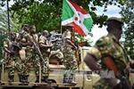 Quân đội Burundi trấn áp người biểu tình