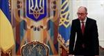 Nghị sĩ Khối Poroshenko đòi Thủ tướng Ukraine từ chức