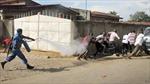 Cảnh sát Burundi đánh đập và bắt giữ người biểu tình