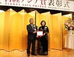 Chủ tịch Vinamilk Mai Kiều Liên nhận giải thưởng Nikkei châu Á