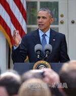 Ông Obama: Mỹ không thất bại trong cuộc chiến chống IS