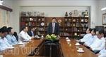 Bộ trưởng Phùng Quang Thanh thăm ĐSQ Việt Nam tại Ấn Độ