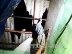 Lốc xoáy làm tốc mái hơn 50 căn nhà tại Bến Tre